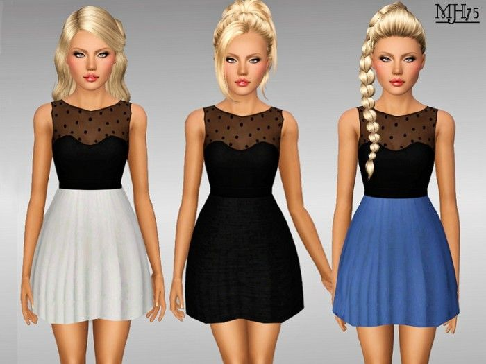 Roma Dress by Margies Sims • Sims 3 Downloads CC Caboodle