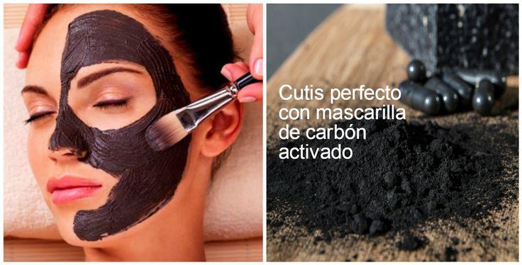 Mascarillas y beneficios del carbón activado para la piel ~ Belleza y Peinados