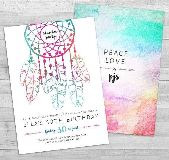 Oltre 25 Fantastiche Idee Su Einladung Pyjamaparty Su Pinterest   Pyjama  Party Einladung Vorlage