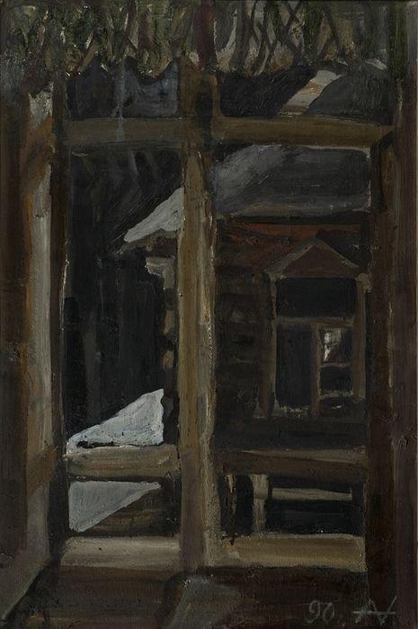Андронов Николай Иванович (30.04.1929 – 10.11.1998) Зимнее окно