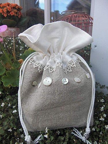 Drawstring bag by corrine