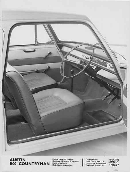 1966 austin 1100 countryman interior car pinterest wheels cars and scooters. Black Bedroom Furniture Sets. Home Design Ideas