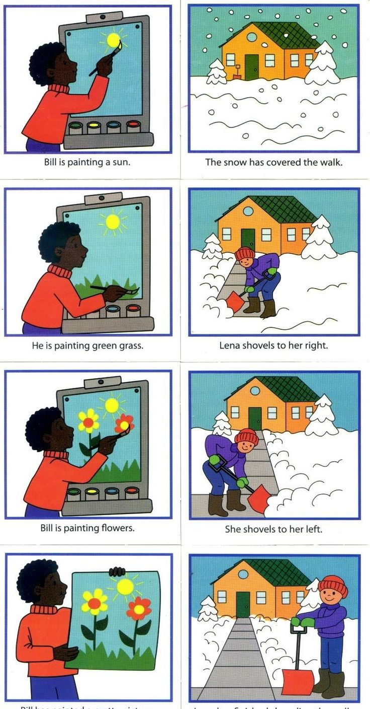 Pintar e limpar a neve
