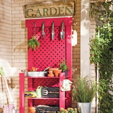 DIY: table de jardinier - En étapes - Décoration et rénovation - Pratico Pratique
