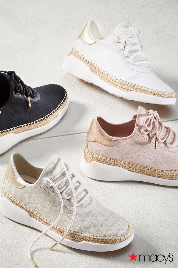 Macys michael kors sneakers