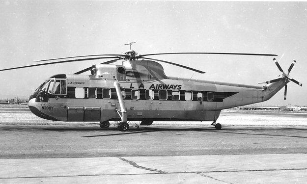 Los Angeles Airways Sikorsky S-61L