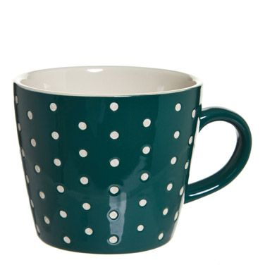 dark-greenCarolyn Donnelly Eclectic Embossed Mug