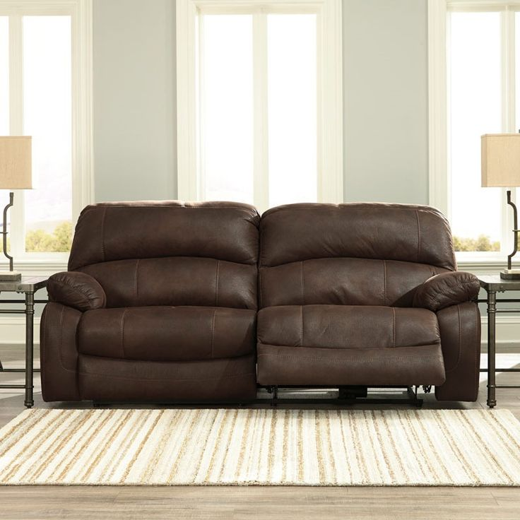 Zavier Power Reclining Sofa by Ashley HomeStore  Polyester : ashley furniture power recliner - islam-shia.org