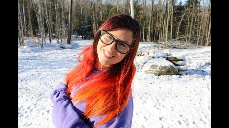 NEW HAIR, SNOW!! A COLD WEEKEND