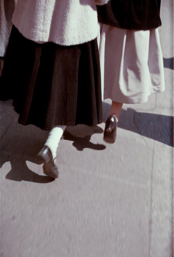 Saul Leiter: Black and White, c. 1949.