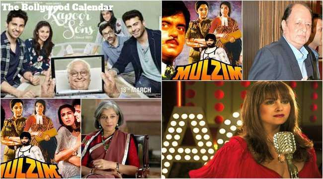 In History of Bollywood On 18th March, is the birthday of Alisha Chinoy, Shashi Kapoor Ratna Pathak, and Navin Nischol. Movies Released of Kapoor and sons