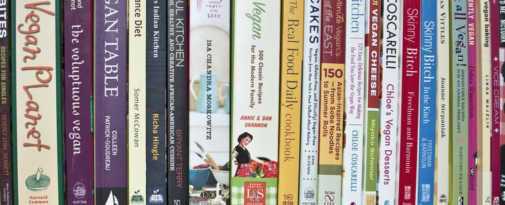 Best Vegan Cookbooks - a list of great choices for different levels of cooking!