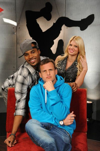 Rob with Steelo and Chanel on ridiculousness.