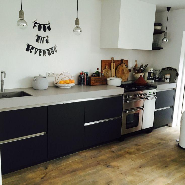 25 beste idee n over keuken idee n op pinterest keuken organisatie huis projecten en opslag - Keuken rustieke grijze ...