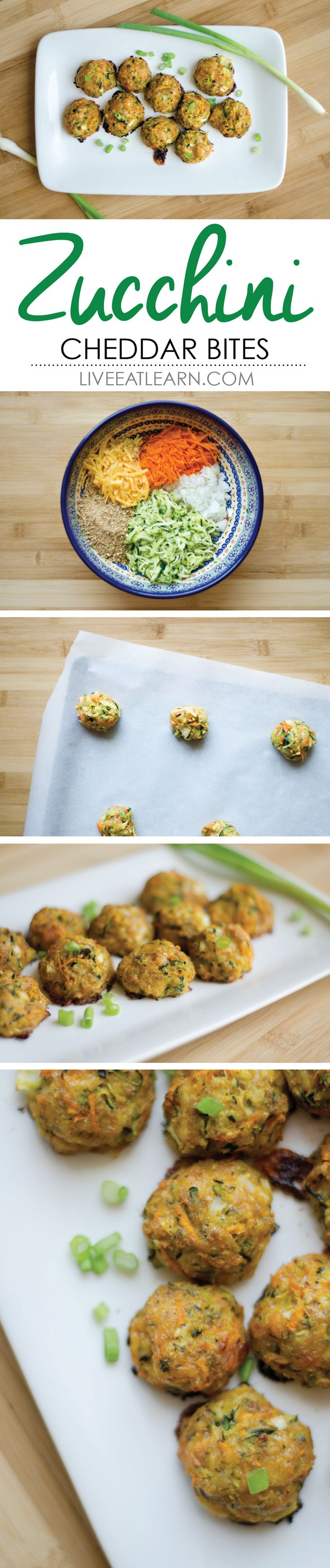 Zucchini Cheddar Bites | Recipe | Zucchini Bites, Zucchini and Cheddar