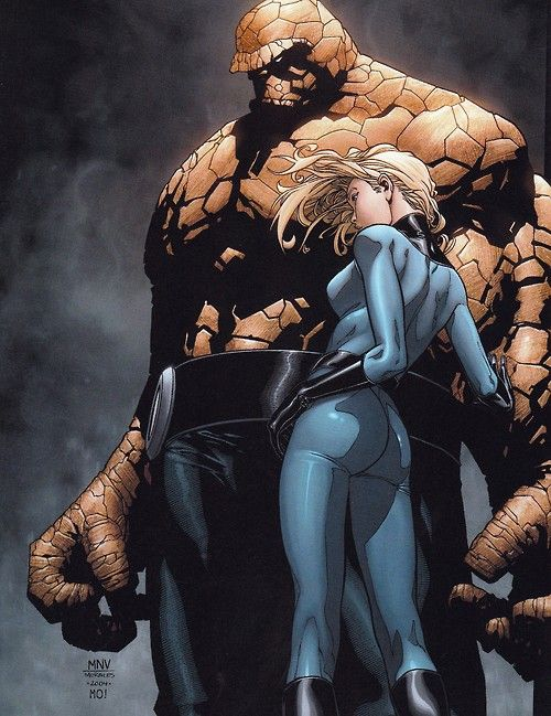 Awesome!!!!!! Thing and Sue Storm