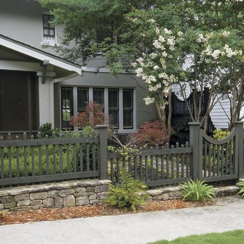 How to choose the right fence picket fences ideas