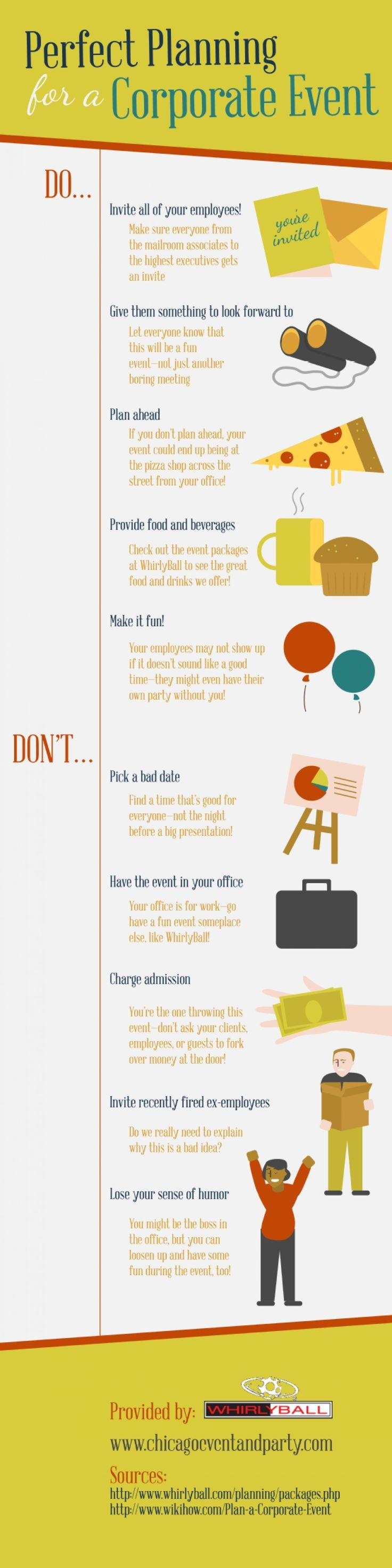 96 best event planning images on pinterest event planning business perfect planning for a corporate event infographic more fandeluxe Image collections