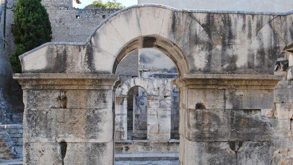 L'enceinte romaine - Nîmes