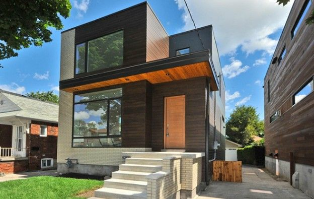 My dream home. House of the Week: $1.2 million for a brand-new modernist cube in East York - Gallery | torontolife.com