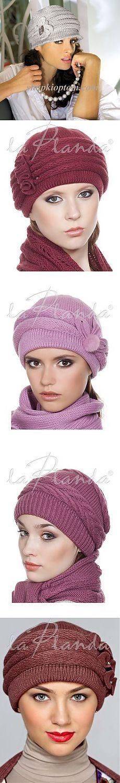 Модные женские шапочки (без описания)