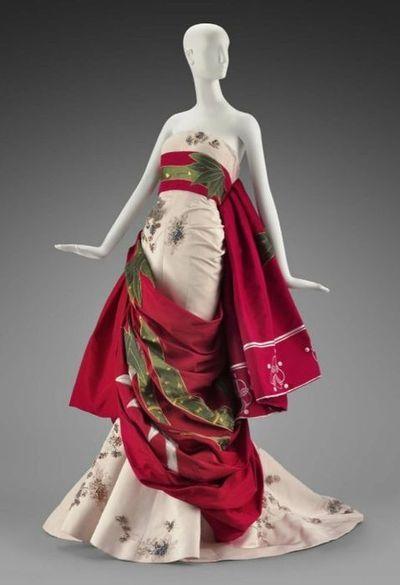 """Katisha-San"" Dior Evening Gown    MFA Boston    2007"
