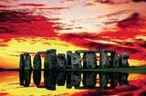 Jim Zuckerman Stonehenge Reflections Art Print Poster Posters