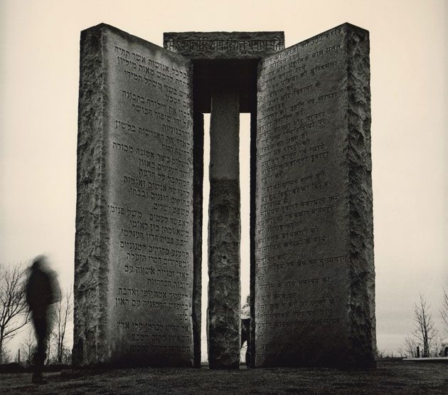 Interesting article about this monument, which is in Georgia, where I was born and raised but never heard about this till now.  American Stonehenge: Monumental Instructions for the Post-Apocalypse. @designerwallace