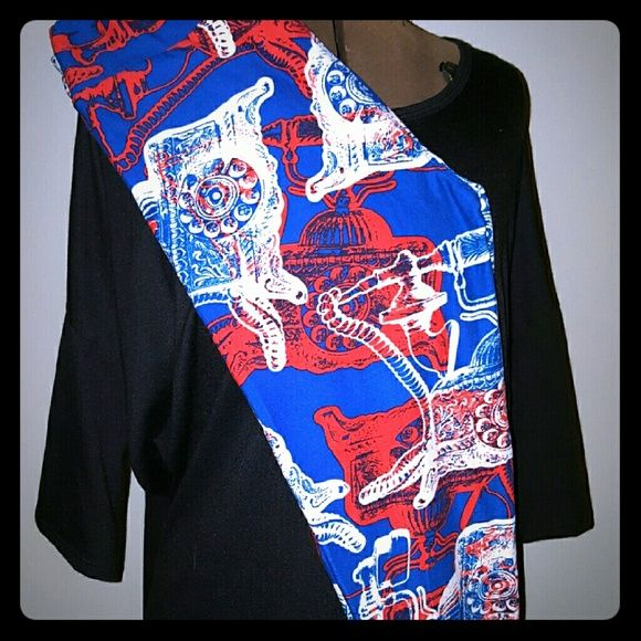 LuLaRoe One Size Antique Telephone leggings Brand new, with tags, super hard to find LuLaRoe leggings with the antique telephone print. Done in royal blue with red and white phones, these would be perfect for a quirky 4th of July! LuLaRoe Pants Leggings