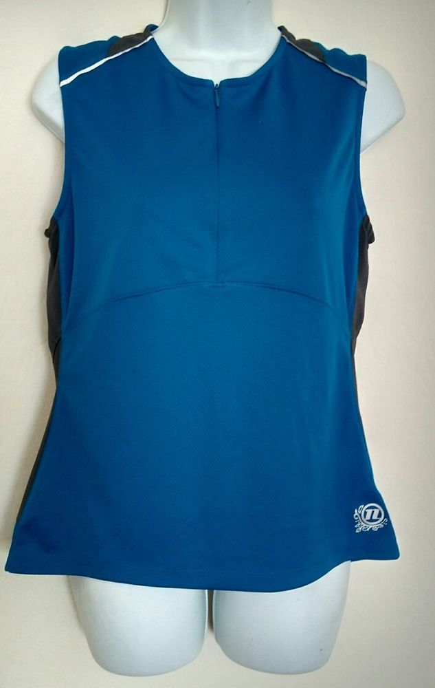 Novara M Womens Cycle Bike Jersey Tank Top Rear Pouch Zip front REI | Clothing, Shoes & Accessories, Women's Clothing, Athletic Apparel | eBay!
