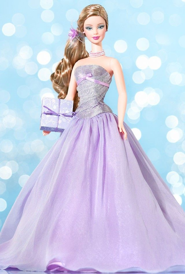 Birthday Wishes Barbie Doll 2004