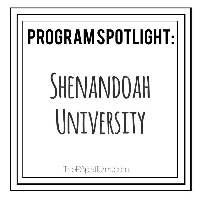 The PA Platform - Shenandoah University