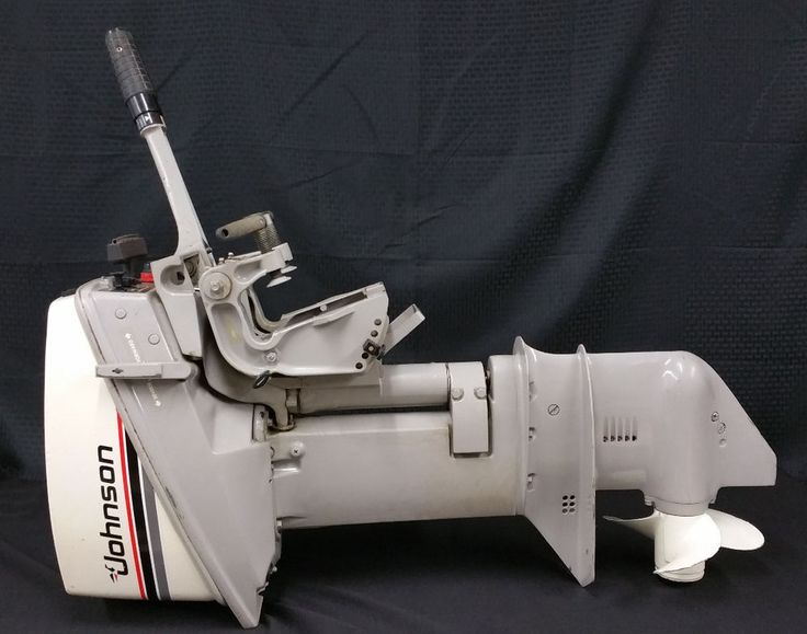 Details About Johnson 15hp 2 Cylinder 2 Stroke Outboard