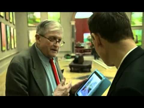 David Hockney Talks About Painting Routine - YouTube