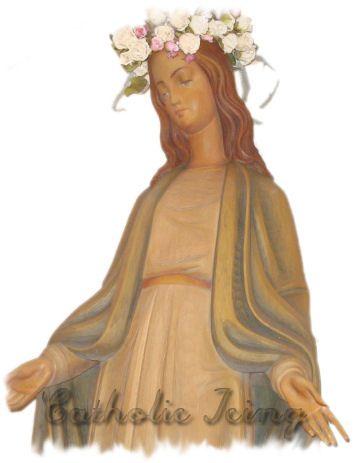 Layout virgin mary