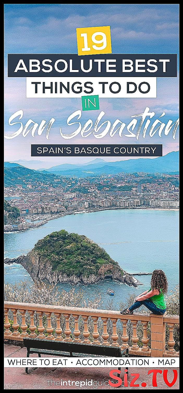 19 Absolute Best Things To Do In San Sebastián 19 Absolute Best Things To Do In San Sebastian 8211 Spain 82 Basque Country San Sebastian Spain Things To Do