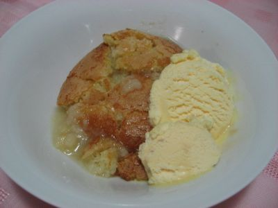 Easy Lemon Self Saucing Pudding