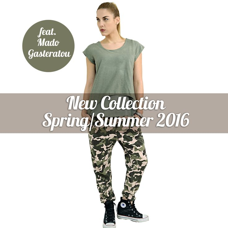 New Collection Spring/Summer 2016 feat.Mado Gasteratou!