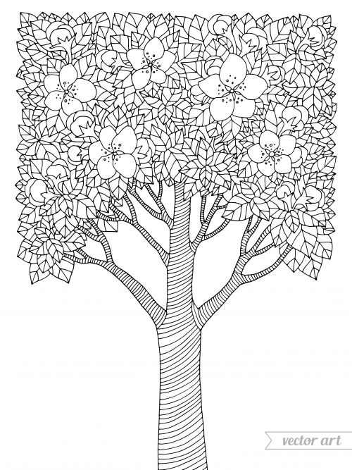 advanced nature coloring pages - photo#24