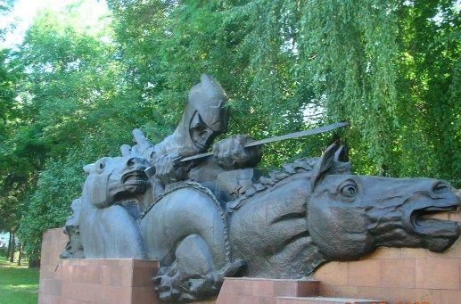 War Memorial. Kazakhstan