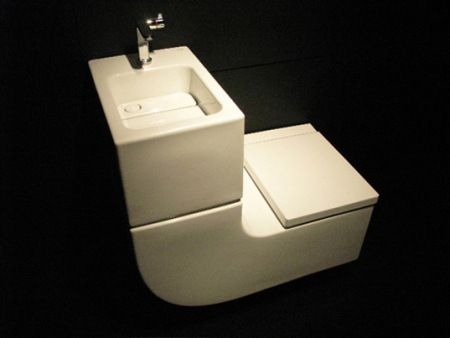 Sleek Sink/Toilet Combo is an All-in-One Greywater Recycling System | Creative Action