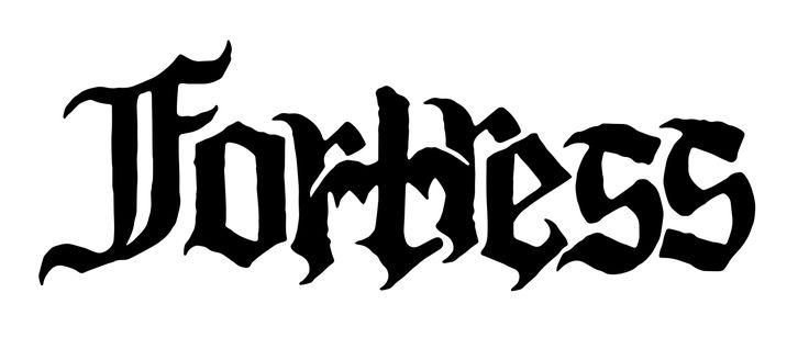 Metal band 'Fortress' logo design  www.totcph.com