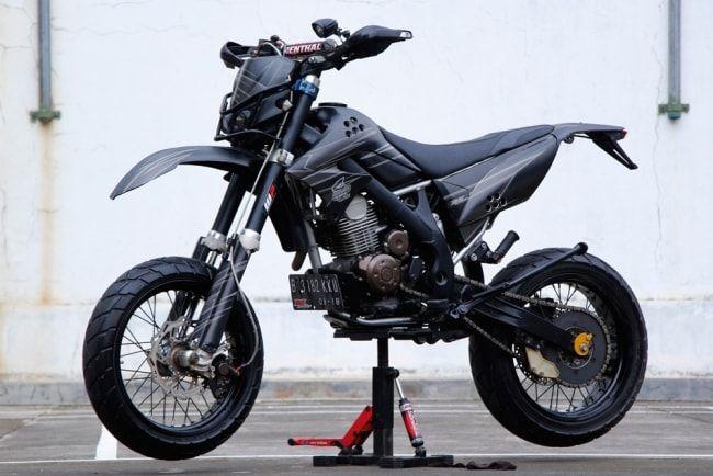 Foto Modifikasi Motor KLX 150 S Trail