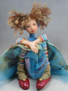 Dianne Adam Dolls: Dolls Dianneadamblogspotfr, Whimsical Dolls, Dollsdiann Adam, Blue Dresses, Dolls Art, Baby Dolls, Adam Dolls, Dolls Diann Adam, Art Dolls