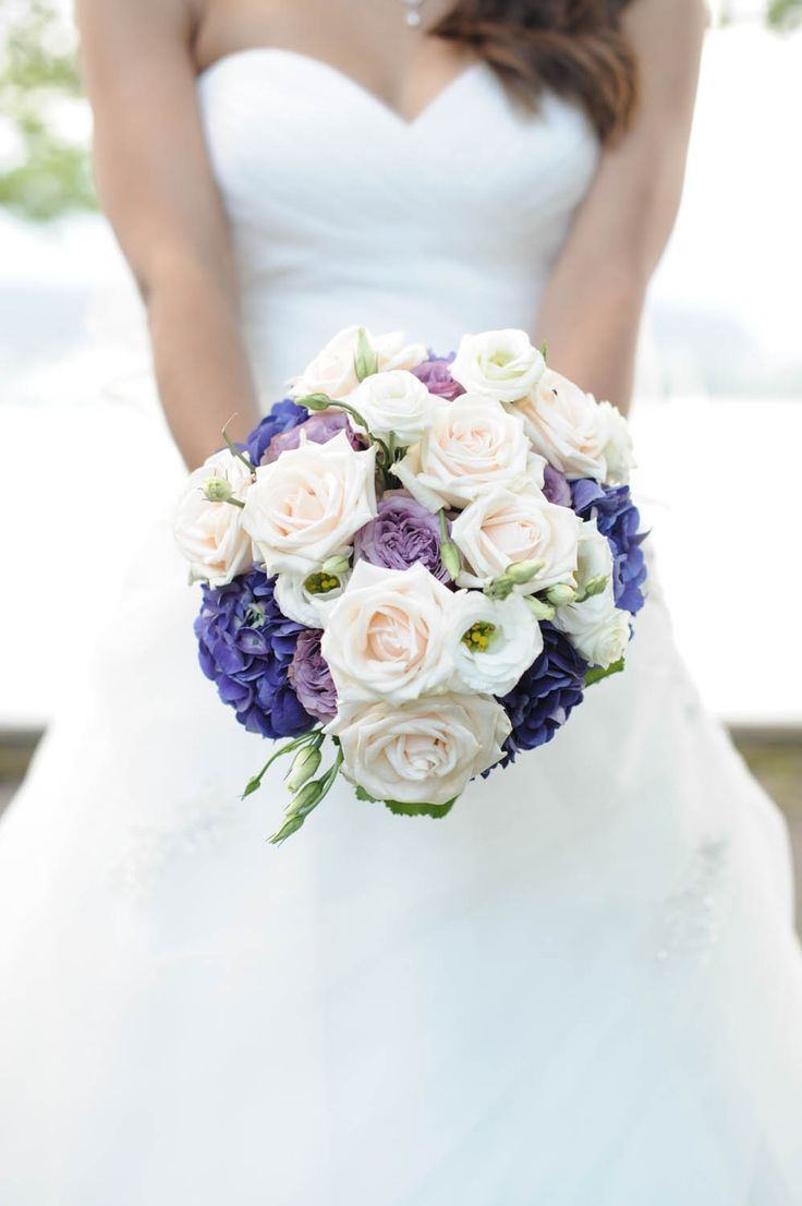 my purple bridal bouquet. Roses, Eustoma, Hydrangeas. Summer wedding. Garden wedding.