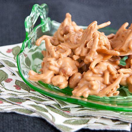 Haystacks - an old-fashioned sweet, salty, crunchy candy from @Lana Stuart | Never Enough Thyme www.lanascooking....