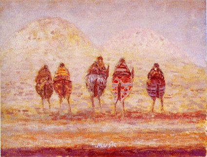 Cinque cavalli che vanno verso i monti (1984), Zoran Music.
