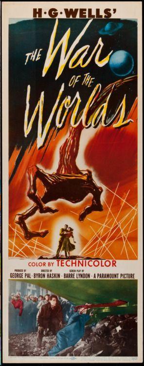 War of the Worlds; 1953; Ann Robinson, Gene Barry