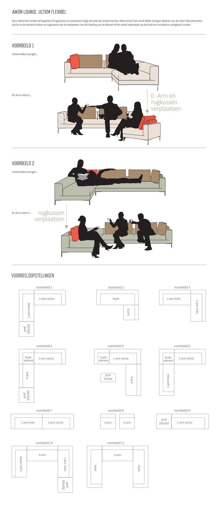 Voorbeeldopstellingen Aikon Lounge