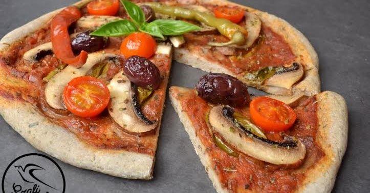 Gluténmentes, tejmentes, tojásmentes, olaj nélküli vékony tésztás pizza       Kalóriaszegény mindenmentes pizza     Lassan felszívódó s...